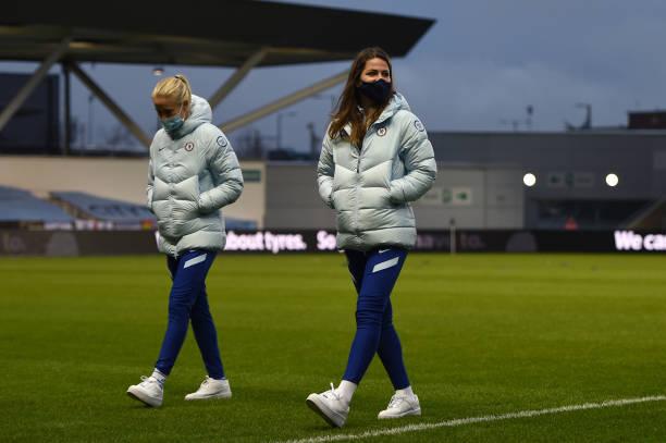 GBR: Manchester City v Chelsea - FA Women's Continental League Cup Quarter Final