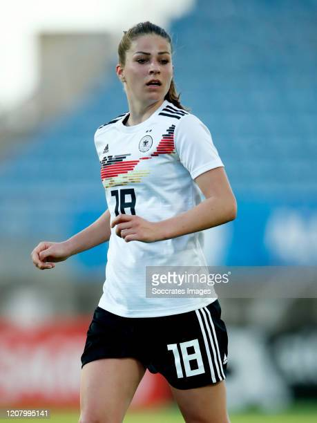 Melanie Leupolz of Germany Women during the Algarve Cup Women match between Germany v Sweden at the Estadio Algarve on March 4 2020 in Loule Portugal