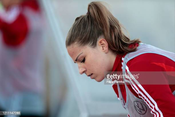 Melanie Leupolz of Germany Women during the Germany v Norway Algarve Cup match at Estadio Municipal Fernando Cabrita on March 7 2020 in Lagos Portugal