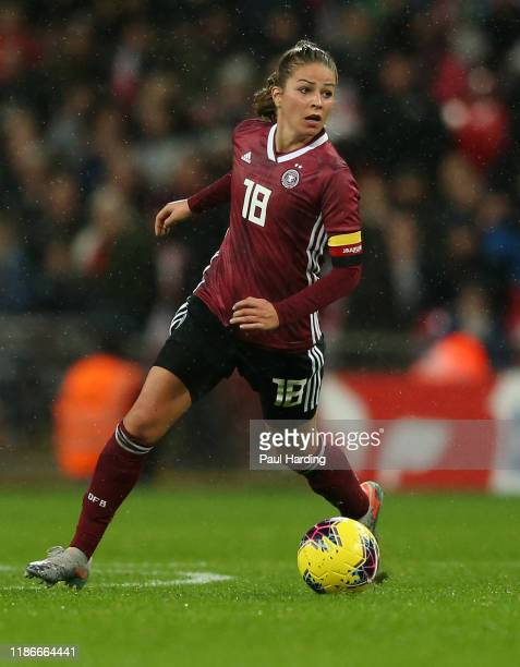 Melanie Leupolz of Germany Women during the International Friendly between England Women and Germany Women at Wembley Stadium on November 09 2019 in...