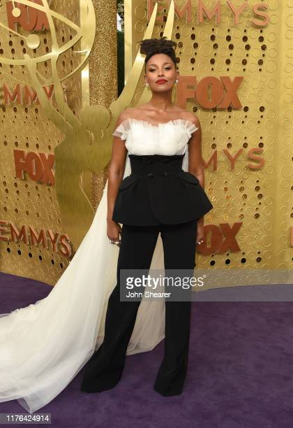 Melanie Liburd attends the 71st Emmy Awards at Microsoft Theater on September 22, 2019 in Los Angeles, California.