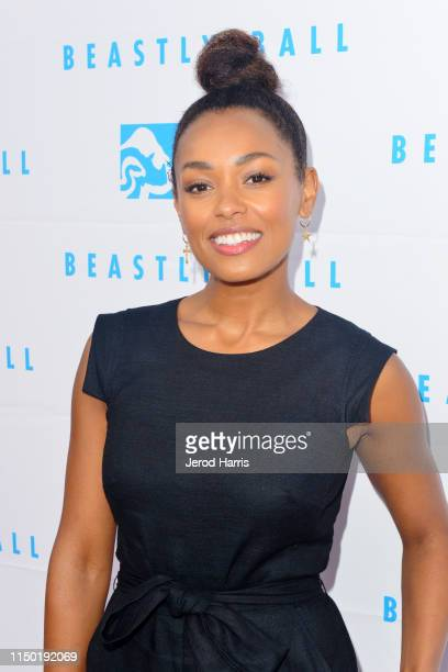 Melanie Liburd attends the Greater Los Angeles Zoo Association's 49th Annual Beastly Ball at Los Angeles Zoo on May 18, 2019 in Los Angeles,...