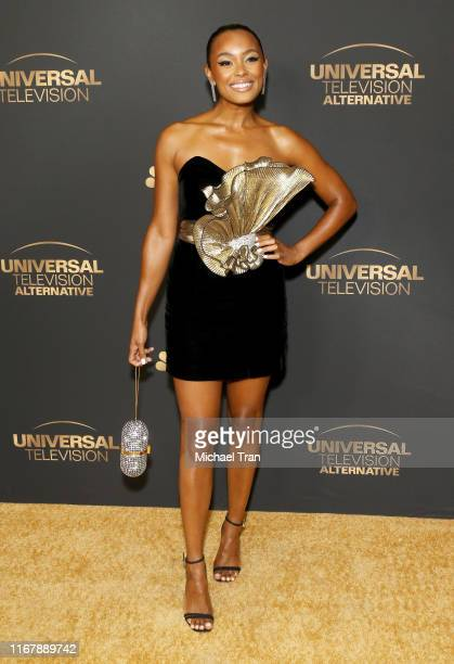 Melanie Liburd attends the NBC and Universal EMMY nominee celebration held at Tesse Restaurant on August 13, 2019 in West Hollywood, California.