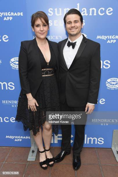 Melanie Lynskey and Jason Ritter attend the IFC Films Independent Spirit Awards After Party presented by MovieGrade App Hendricks Gin and Kona...