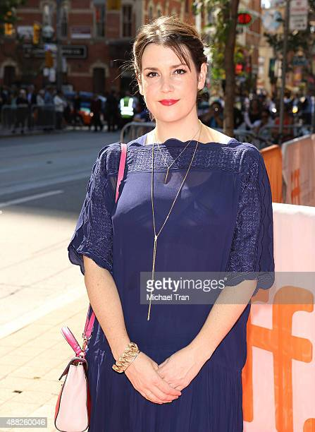 Melanie Lynskey arrives at The Meddler premiere during the 2015 Toronto International Film Festival held at Princess of Wales Theatre on September 14...