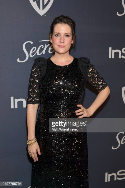 Melanie Lynskey attends The 2020 InStyle And Warner Bros 77th Annual Golden Globe Awards PostParty at The Beverly Hilton Hotel on January 05 2020 in...