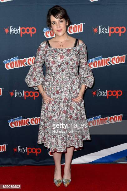 Melanie Lynskey attends the Castle Rock press room at 2017 New York Comic Con on October 8 2017 in New York City