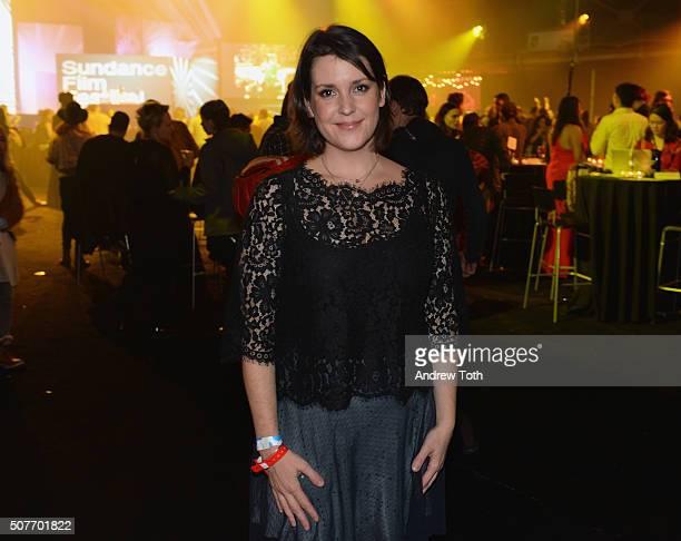 Melanie Lynskey attends the Sundance Film Festival Awards Night Party during the 2016 Sundance Film Festival at Basin Recreation Field House on...