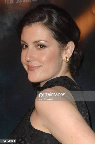 Melanie Lynskey during Flags of Our Fathers Los Angeles Premiere Arrivals at Academy of Motion Pictures Arts Sciences in Beverly Hills California...