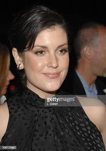 Melanie Lynskey during Flags of Our Fathers Los Angeles Premiere Red Carpet in Hollywood California United States