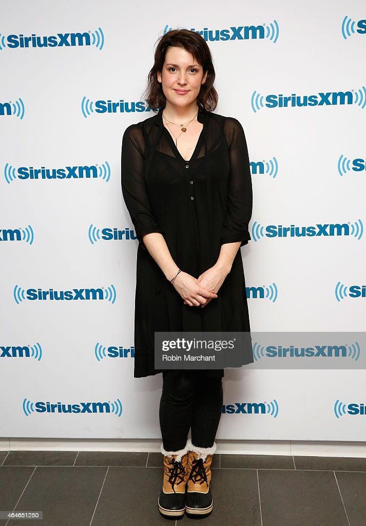 Melanie Lynskey vists at SiriusXM Studios on February 27, 2015 in New York City.