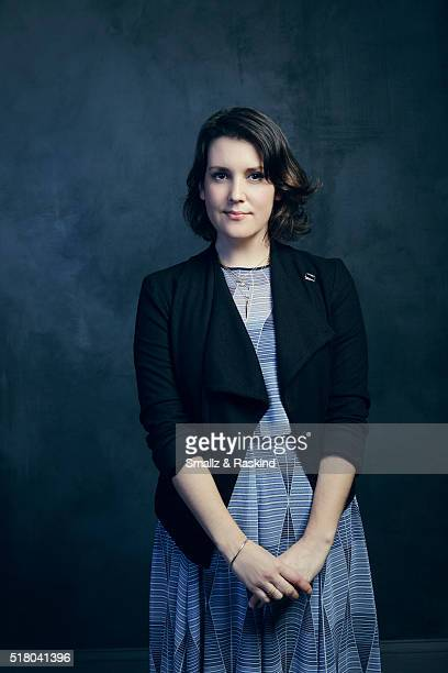 Melanie Lynsky poses for a portrait in the Getty Images SXSW Portrait Studio Powered By Samsung on March 13 2016 in Austin Texas