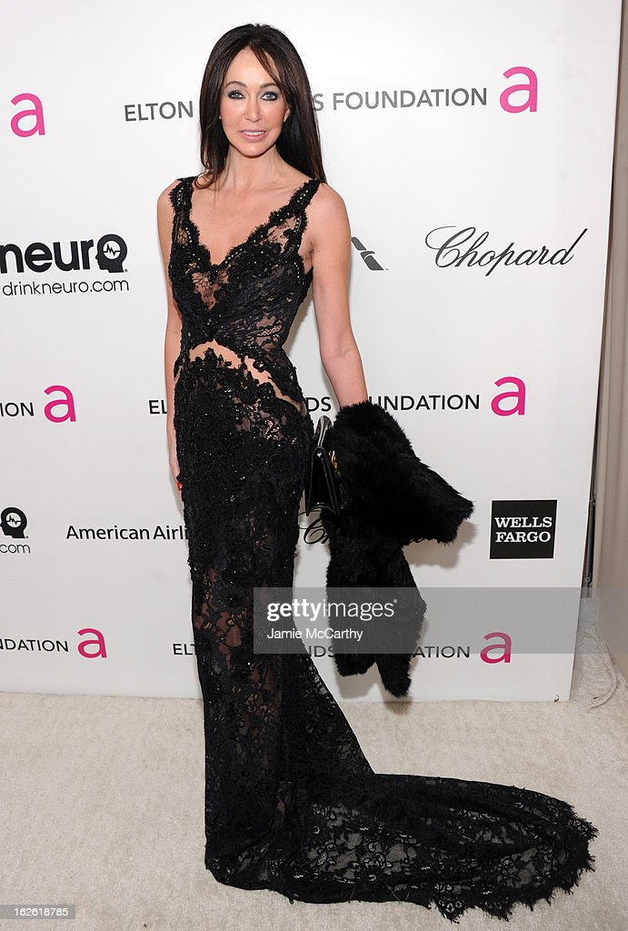 Melanie Mar attends the 21st Annual Elton John AIDS Foundation Academy Awards Viewing Party at West Hollywood Park on February 24, 2013 in West Hollywood, California.