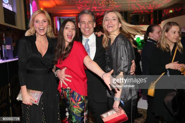 Melanie Marschke Katja Woywood her husband Marco Girnth and Tanja Wedhorn during the Movie Meets Media MMM event on the occasion of the 68th...