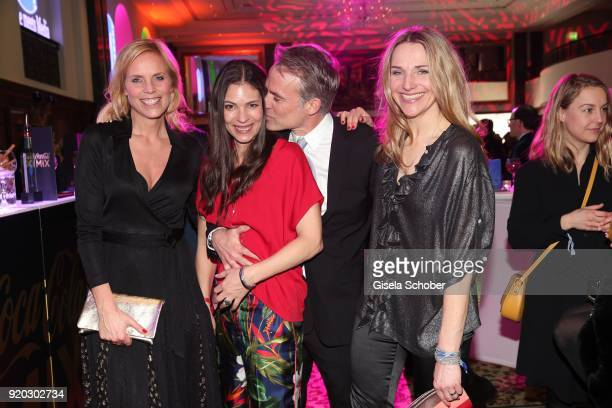 Melanie Marschke Katja Woywood her husband Marco Girnth and Tanja Wedhorn during the Movie Meets Media 'MMM' event on the occasion of the 68th...