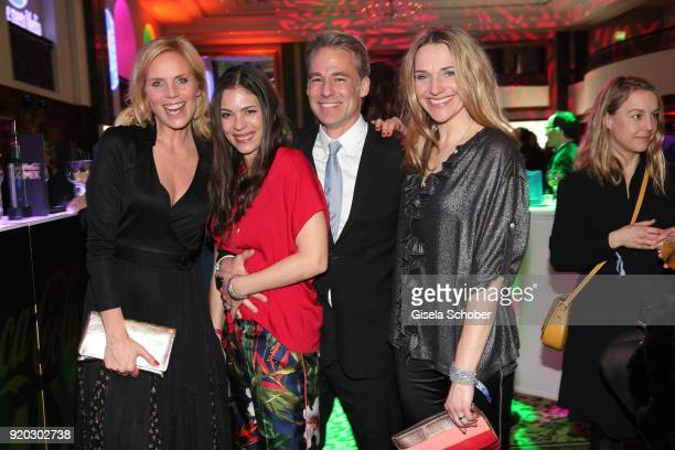 """Melanie Marschke, Katja Woywood, her husband Marco Girnth and Tanja Wedhorn during the Movie Meets Media """"MMM"""" event on the occasion of the 68th..."""