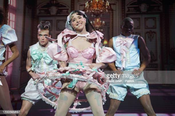 Melanie Martinez performs at L'Olympia on February 13 2020 in Paris France