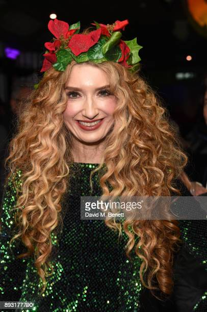 Melanie Masson attends the world premiere press night performance of 'Nativity The Musical' at Eventim Apollo Hammersmith on December 14 2017 in...