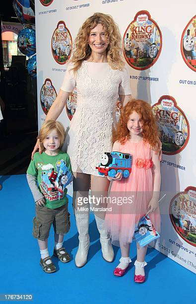 Melanie Masson attends VIP Screening of Thomas & Friends: King Of The Railway at Vue Leicester Square on August 18, 2013 in London, England.