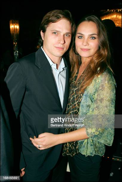 Melanie Maudran and Vincent Lecoeur at Dalida TV Film Tribute To The Singer