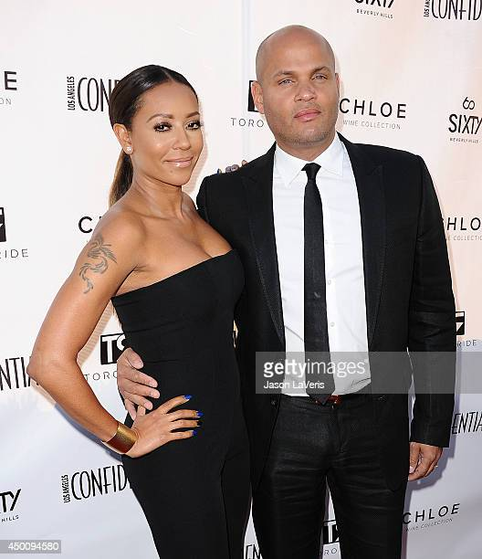Melanie 'Mel B' Brown and husband Stephen Belafonte attend Los Angeles Confidential Magazine's Women of Influence issue event at SIXTY Beverly Hills...