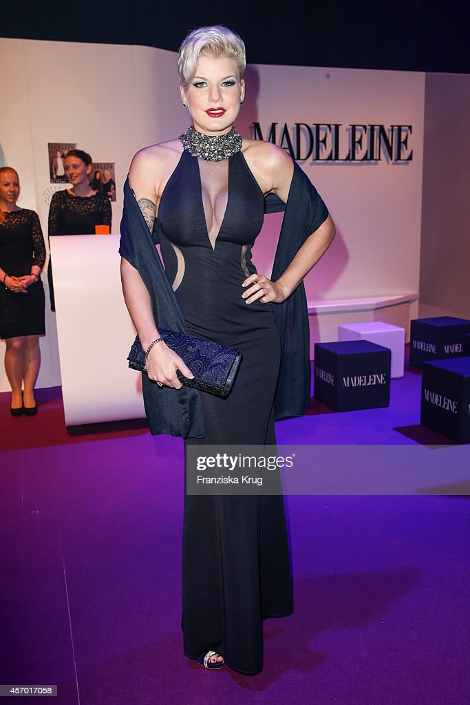 Melanie Mueller attends Madeleine at Goldene Henne 2014 on October 10, 2014 in Leipzig, Germany.