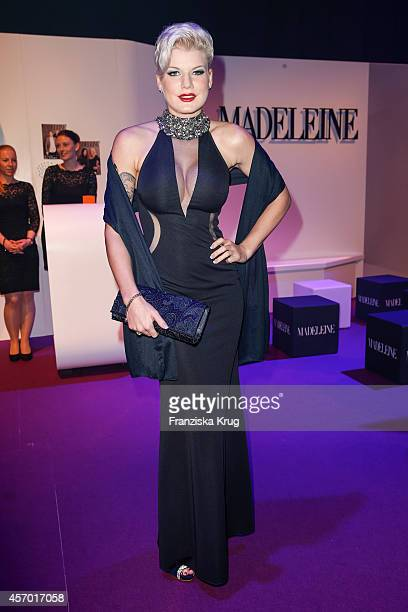 Melanie Mueller attends Madeleine at Goldene Henne 2014 on October 10 2014 in Leipzig Germany