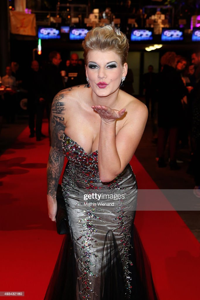 Melanie Mueller attends the 19th Annual German Comedy Awards at Coloneum on October 20, 2015 in Cologne, Germany.
