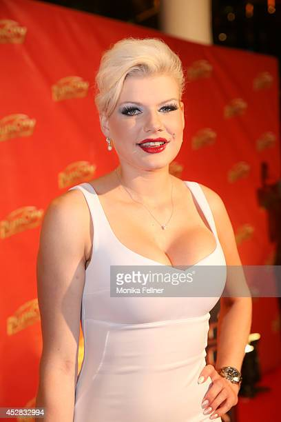 Melanie Mueller attends 'Weisses Fest 2014' on July 26 2014 in Linz Austria