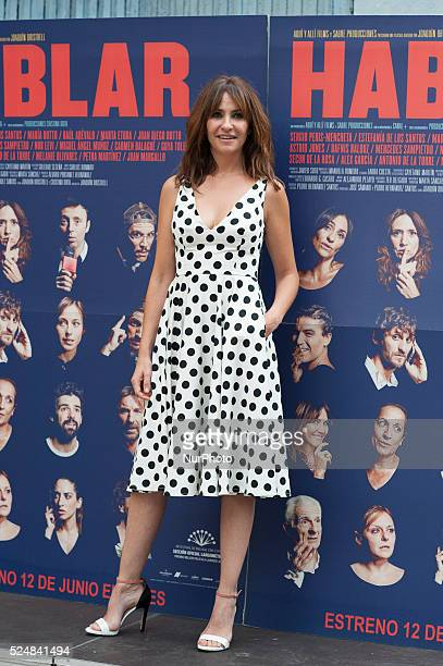 Melanie Olivares attends 'Hablar' photocall at Mirador Sala on June 10 2015 in Madrid Spain