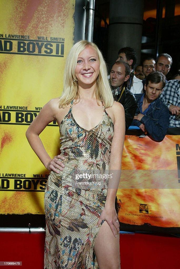 Melanie Rühmann Bei Der Bad Boys Ii Premiere In München