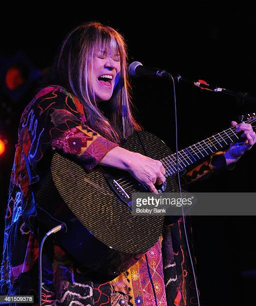 Melanie SafkaSchekeryk performs at BB King Blues Club Grill on January 13 2015 in New York City