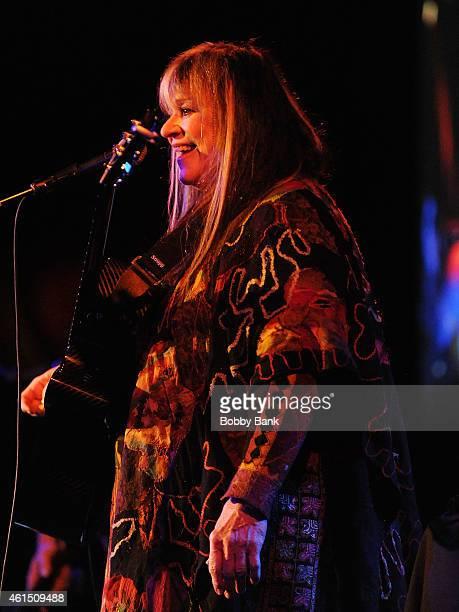 Melanie Safka-Schekeryk performs at B.B. King Blues Club & Grill on January 13, 2015 in New York City.