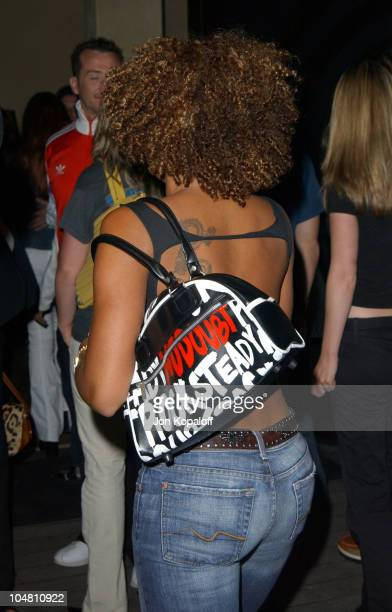 Melanie 'Scary Spice' Brown during Nylon Magazine Lil' Kim Celebrate The Magazine's Summer Music Issue at White Lotus in Hollywood California United...