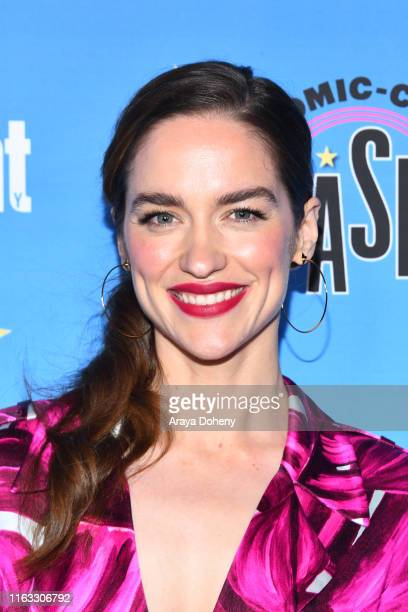 Melanie Scrofano at the Entertainment Weekly ComicCon Celebration at Float at Hard Rock Hotel San Diego on July 20 2019 in San Diego California