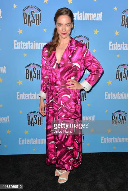 Melanie Scrofano attends Entertainment Weekly ComicCon Celebration at Float at Hard Rock Hotel San Diego on July 20 2019 in San Diego California