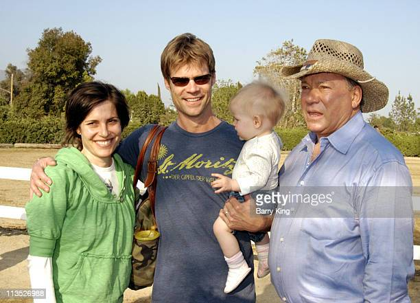 Melanie Shatner Joel Gretsch daughter Willow and William Shatner