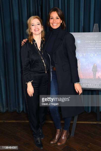 Melanie Sykes and director Carol Morley attend the Out of Blue preview screening at Picturehouse Central on March 26 2019 in London England