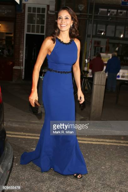 Melanie Sykes attending the Bardou Foundation International Women's Day celebration at the Hospital Club on March 8 2018 in London England
