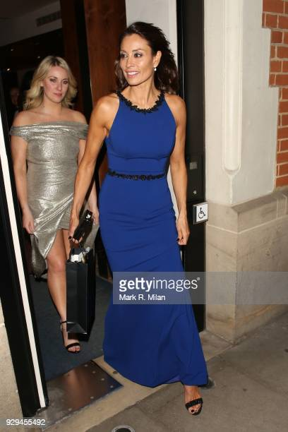 Melanie Sykes attending the Bardou Foundation International Women's Day celebration at the Hospital Club on March 8, 2018 in London, England.