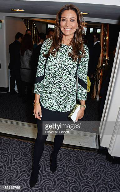 Melanie Sykes attends a gastronomic Mexican lunch prepared by 6 of the country's finest chefs to celebrate the Year of Mexico in the UK hosted by the...
