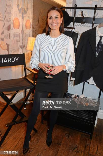 Melanie Sykes attends a special screening of Stan Ollie at The Soho Hotel on January 8 2019 in London England