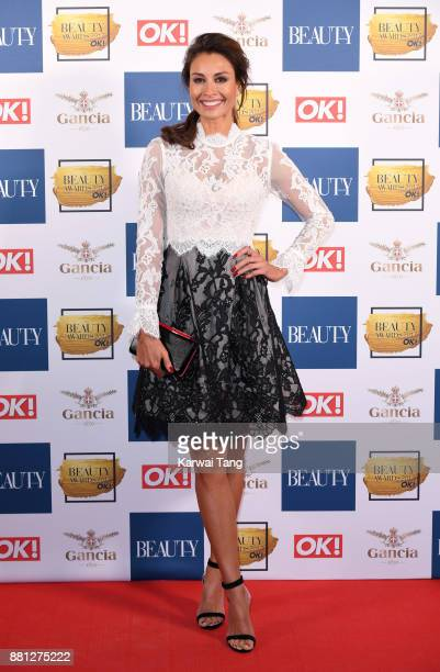 Melanie Sykes attends The Beauty Awards at Tower of London on November 28 2017 in London England