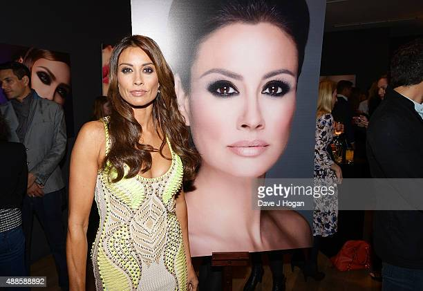 Melanie Sykes attends the book launch party for 'Simply Glamorous' By Gary Cockerill at Alon Zakaim on September 16 2015 in London England