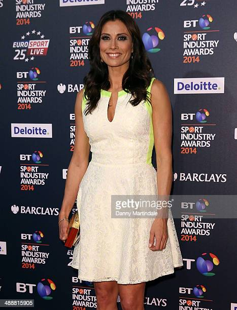 Melanie Sykes attends the BT Sport Industry Awards at Battersea Evolution on May 8 2014 in London England