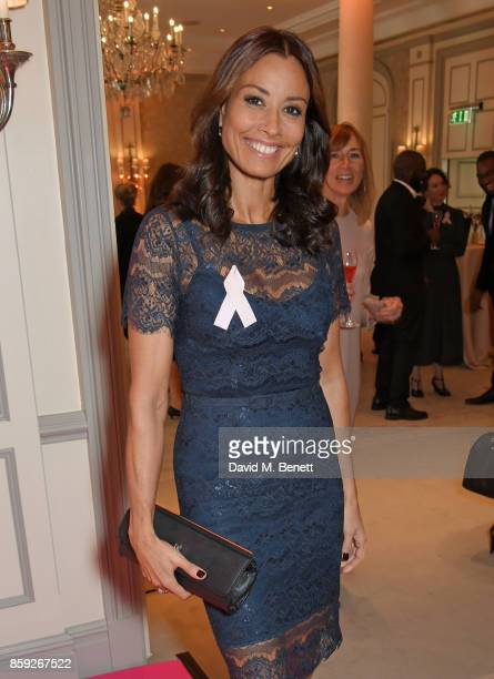 Melanie Sykes attends the Future Dreams 'Make Your Mark' ladies lunch at The Savoy Hotel on October 9 2017 in London England