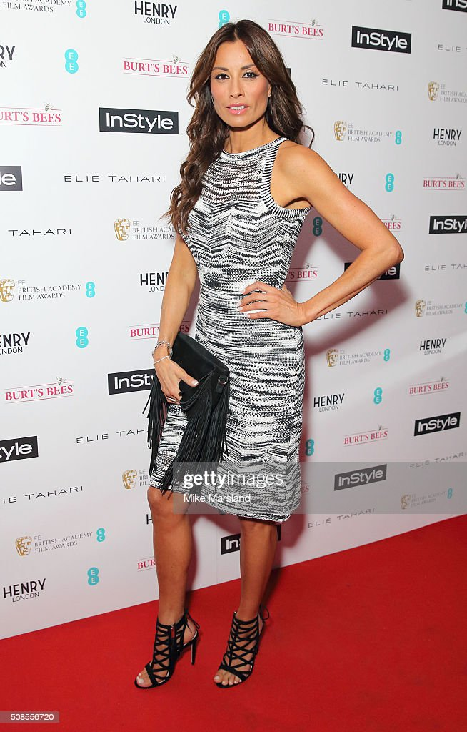 Melanie Sykes attends the InStyle EE Rising Star Pre-BAFTA Party at 100 Wardour Street on February 4, 2016 in London, England.