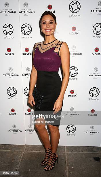 Melanie Sykes attends the launch of Zebrano Restaurant on November 4 2015 in London England