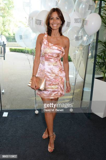 Melanie Sykes attends the launch party for the inaugural Issue of 'Drugstore Culture' at Chucs Serpentine on July 10 2018 in London England