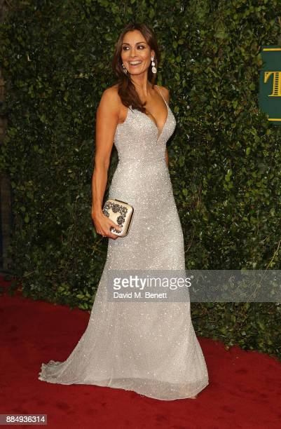 Melanie Sykes attends the London Evening Standard Theatre Awards at Theatre Royal on December 3 2017 in London England